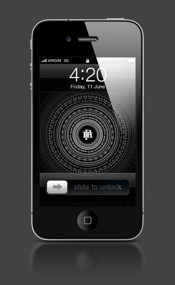 Abduzeedo's iPhone wallpaper of the week by Perttu Murto