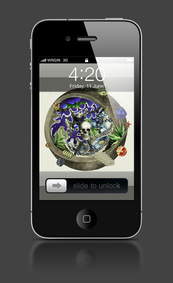 Abduzeedo's iPhone wallpaper of the week by Ee Venn Soh