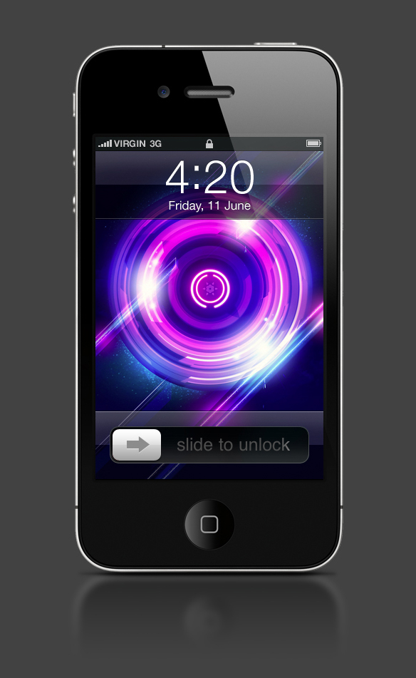 Abduzeedo's iPhone wallpaper of the week by François Hoang