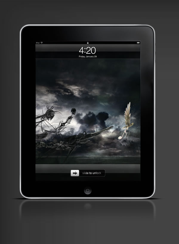 Abduzeedo's iPad wallpaper of the week by
