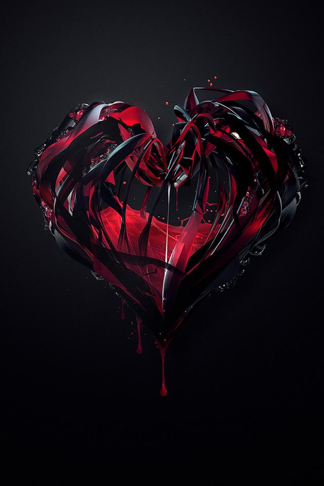 Обои На Айфон Разбитое Сердце