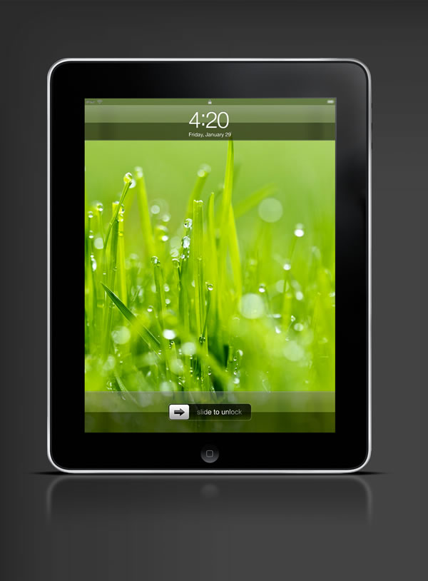 Abduzeedo's iPad wallpaper of the week by Everaldo Coelho