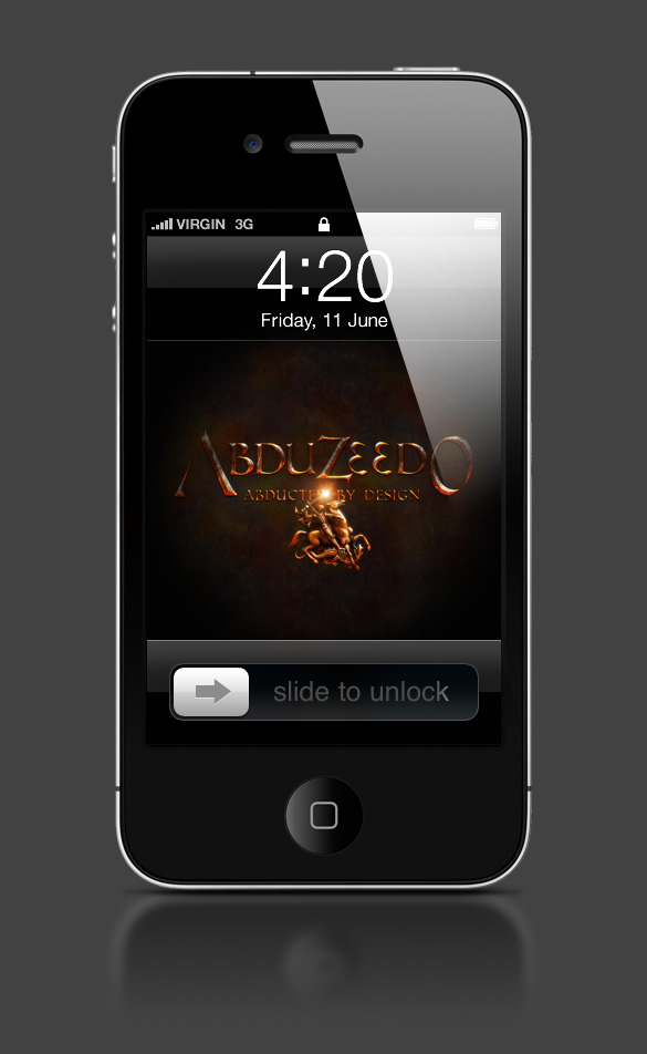 Abduzeedo's iPhone wallpaper of the week by