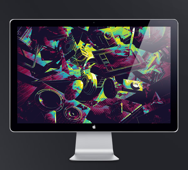 Abduzeedo's wallpaper of the week by Alex Beltechi