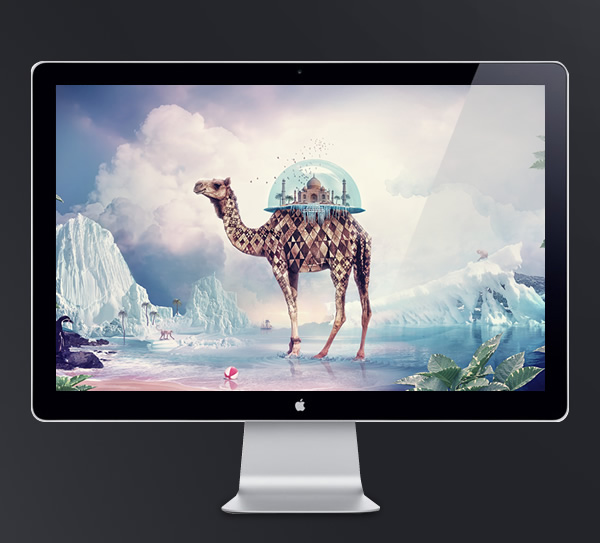 Abduzeedo's wallpaper of the week by Anthony Harmon