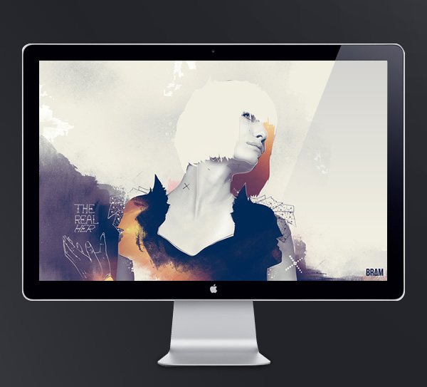 Abduzeedo's wallpaper of the week by Bram Vanhaeren