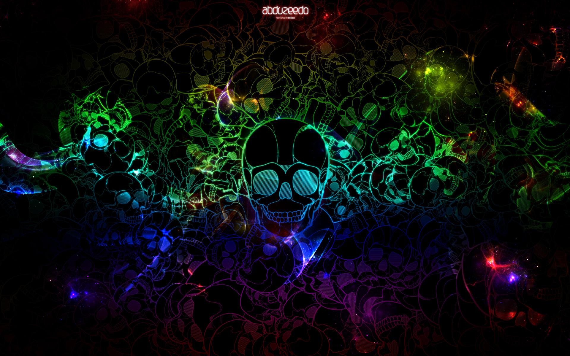 Incredible Neon Skull Wallpaper: Wallpaper Of The Week 20