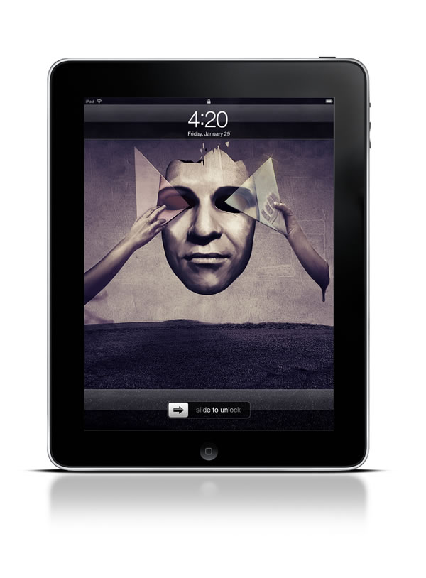 Abduzeedo's iPad wallpaper of the week by Félix Ajenjo