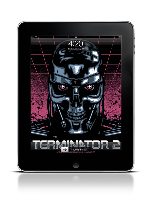 Abduzeedo's iPad wallpaper of the week by James White