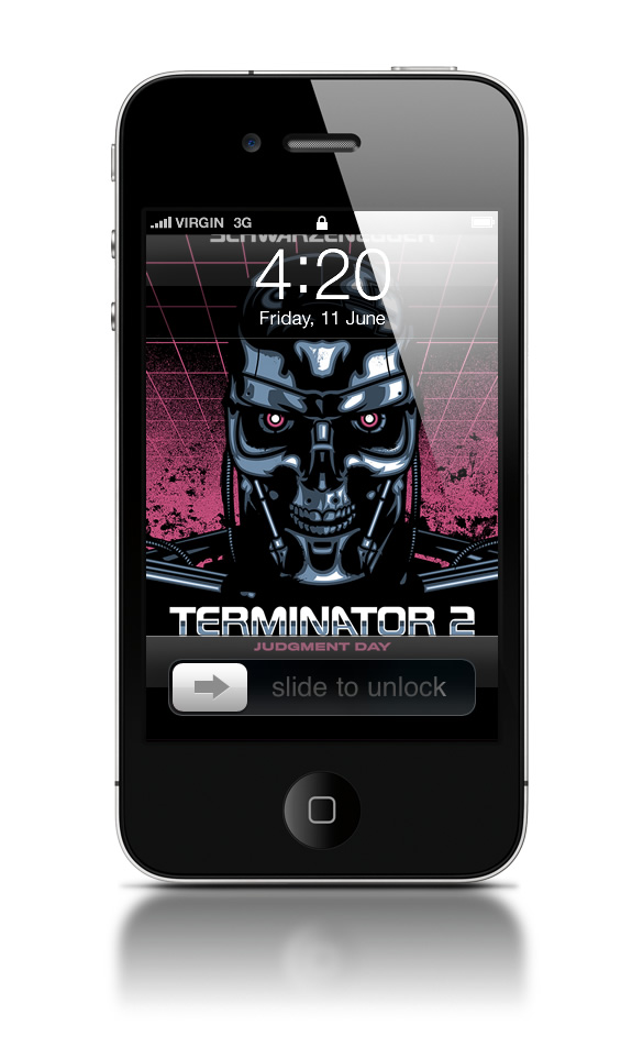 Abduzeedo's iPhone wallpaper of the week by James White