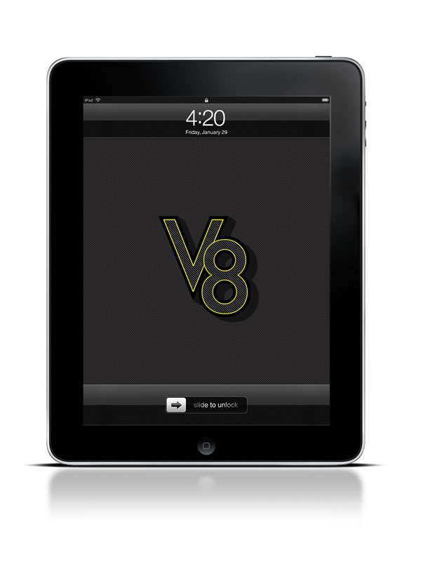 Abduzeedo's iPad wallpaper of the week by Abduzeedo