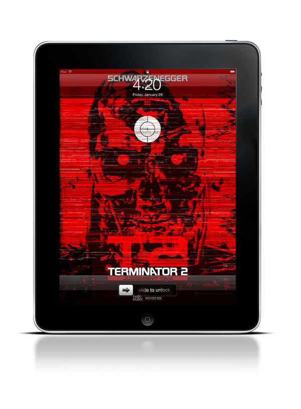 Abduzeedo's iPad wallpaper of the week by helloMuller