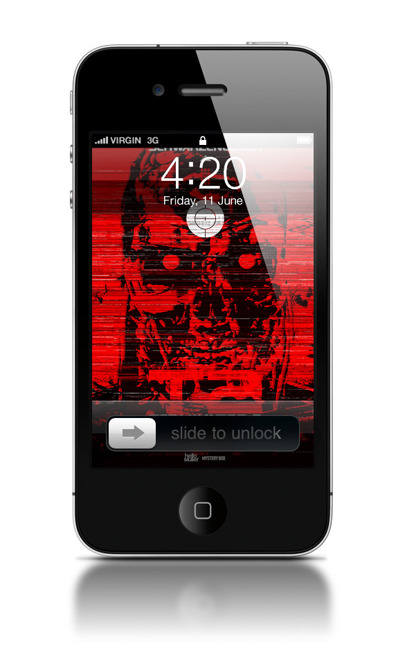 Abduzeedo's iPhone wallpaper of the week by helloMuller