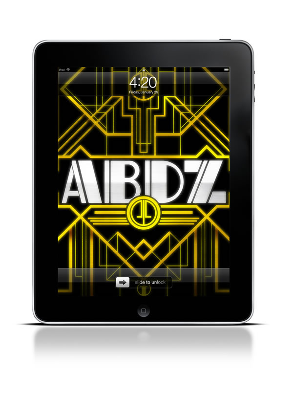 Abduzeedo's iPad wallpaper of the week - Art Deco