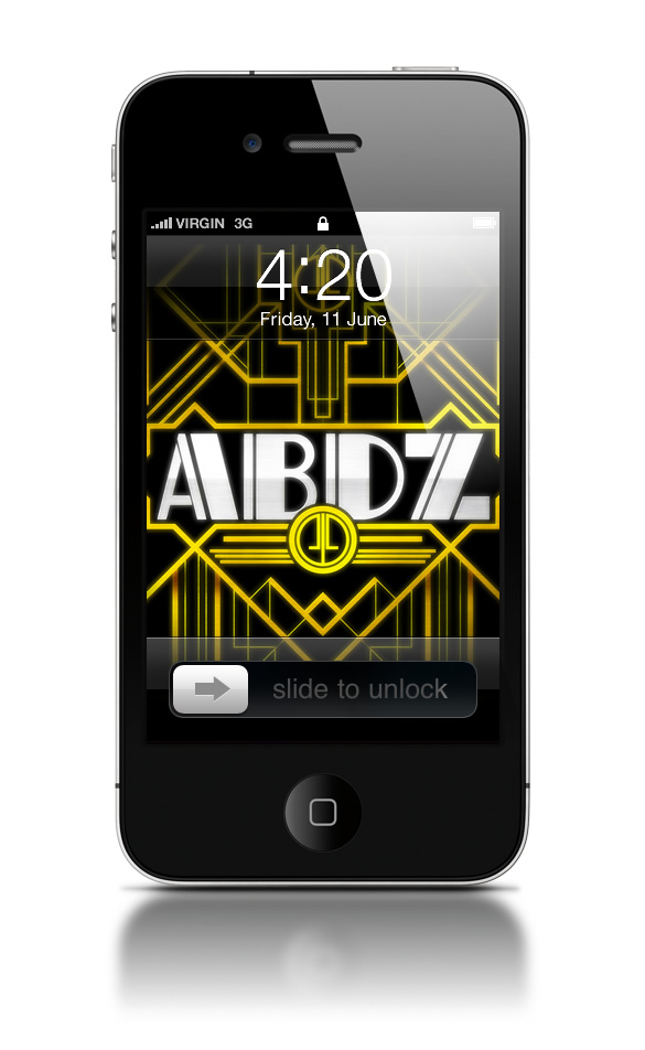Abduzeedo's iPhone wallpaper of the week - Art Deco