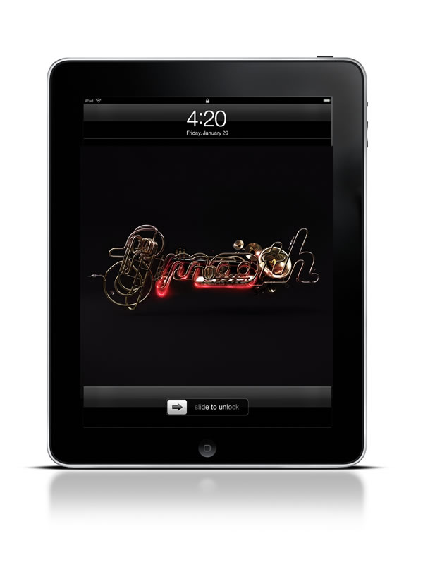 Abduzeedo's iPad wallpaper of the week by João Oliveira