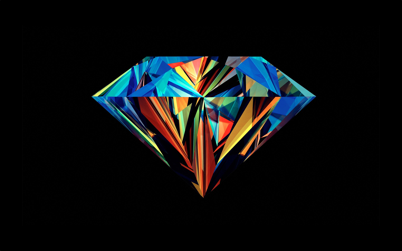 Colored Diamond Wallpaper 1101230