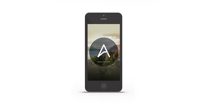 Abduzeedo's iPhone wallpaper of the week Oregon 2013