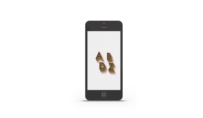 Abduzeedo's iPhone wallpaper of the week - Dramatic Shadows