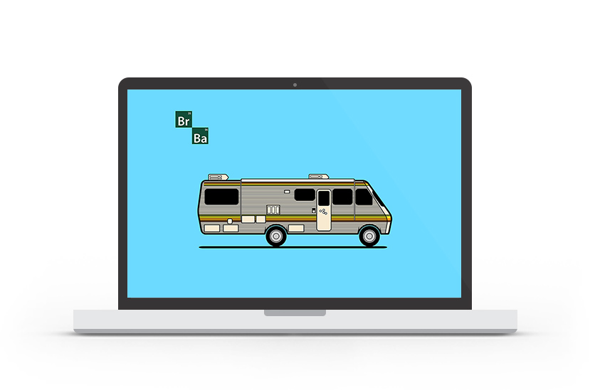 Abduzeedo's wallpaper of the week - Breaking Bad