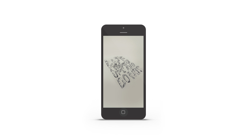Abduzeedo's iPhone wallpaper of the week by Lex Wilson