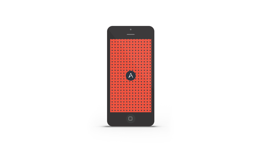 Abduzeedo's iPhone wallpaper of the week ABDZ Pattern