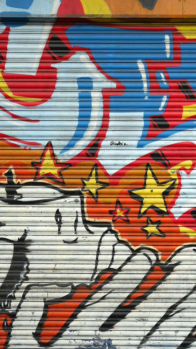 Abduzeedos IPhone Wallpaper Of The Week Hoxton Graffiti