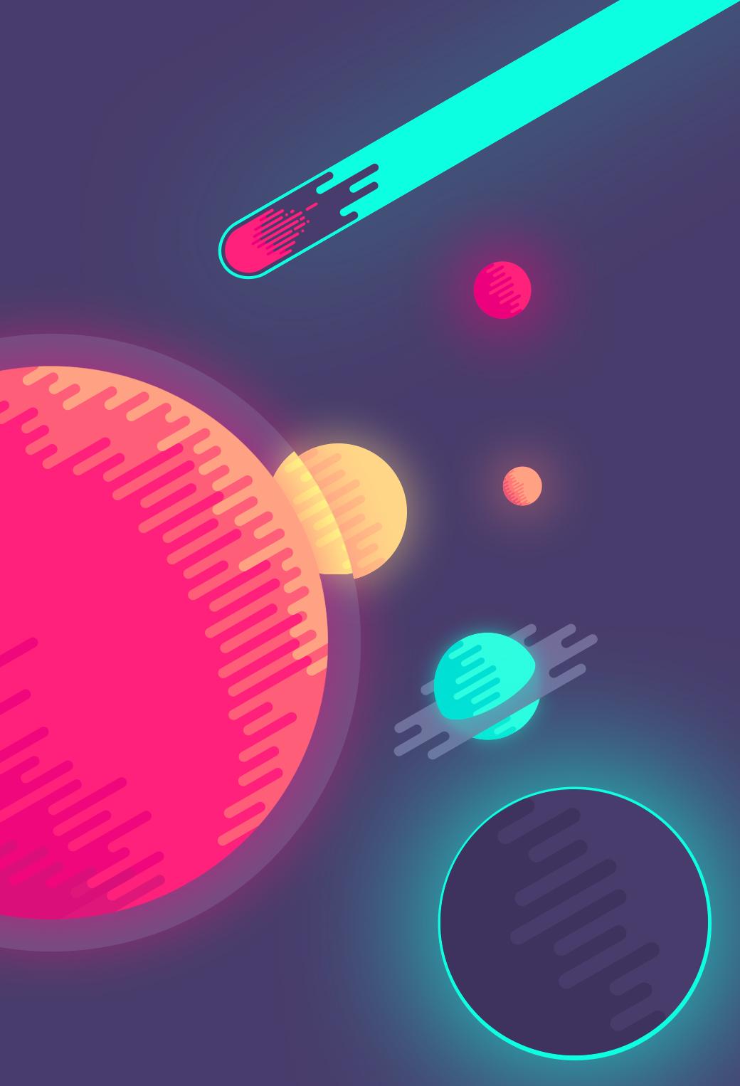 wallpaper of the week by nina geometrieva