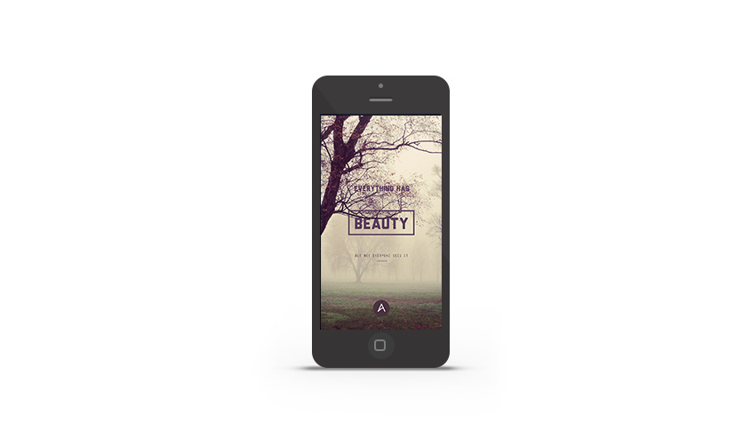 Abduzeedo's iPhone wallpaper of the week - Confucius