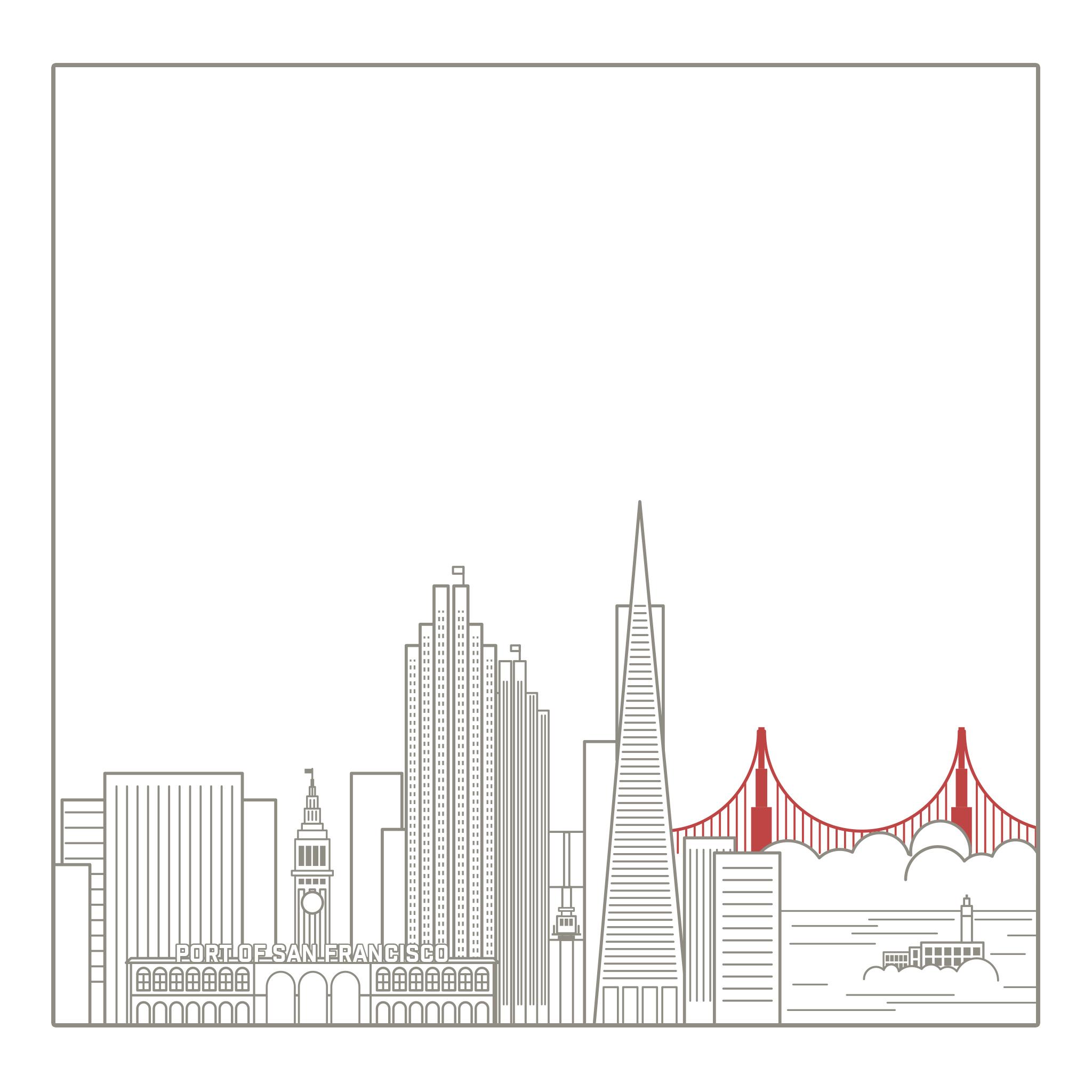 Wallpaper of the Week - San Francisco Skyline