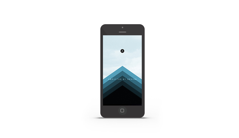 Abduzeedo's iPhone wallpaper of the week by Abduzeedo