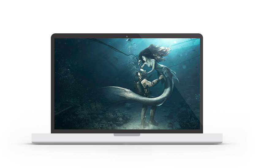 Abduzeedo's wallpaper of the week by Lightfarm Studios