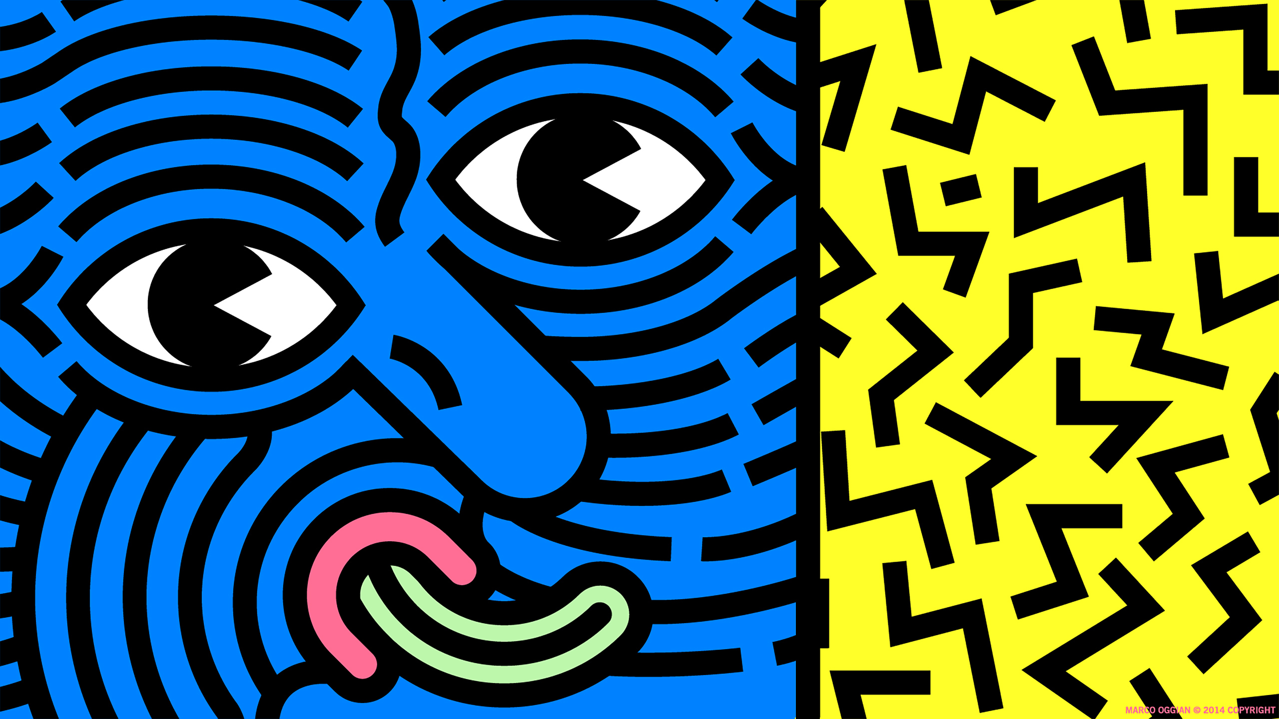 Keith Haring Wallpaper Of The Week  Marco Oggian Abduzeedo