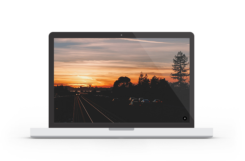 Abduzeedo's wallpaper of the week - Sunset in East Bay