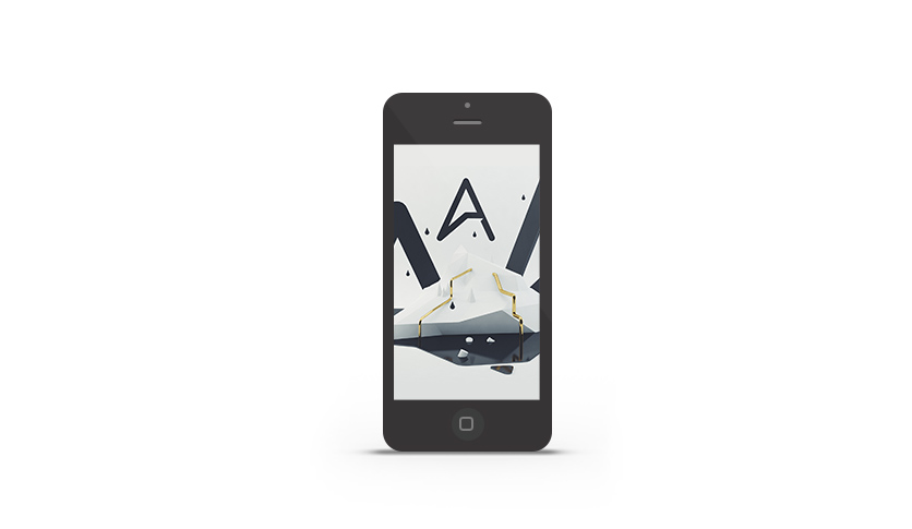 Abduzeedo's iPhone wallpaper of the week by Nathan Rose