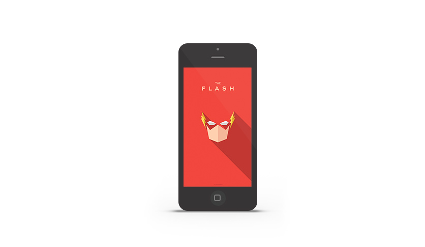 Abduzeedo's iPhone wallpaper of the week by Yuri Krasnoshek