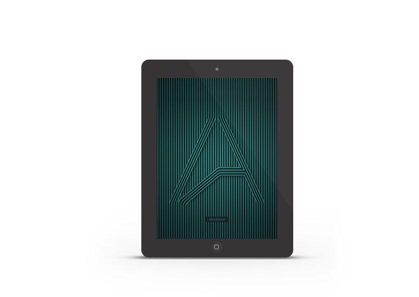 Abduzeedo's iPad wallpaper of the week by ABDZ