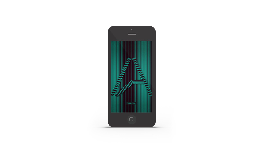Abduzeedo's iPhone wallpaper of the week by ABDZ