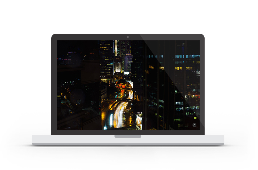 Abduzeedo's wallpaper of the week Hong Kong