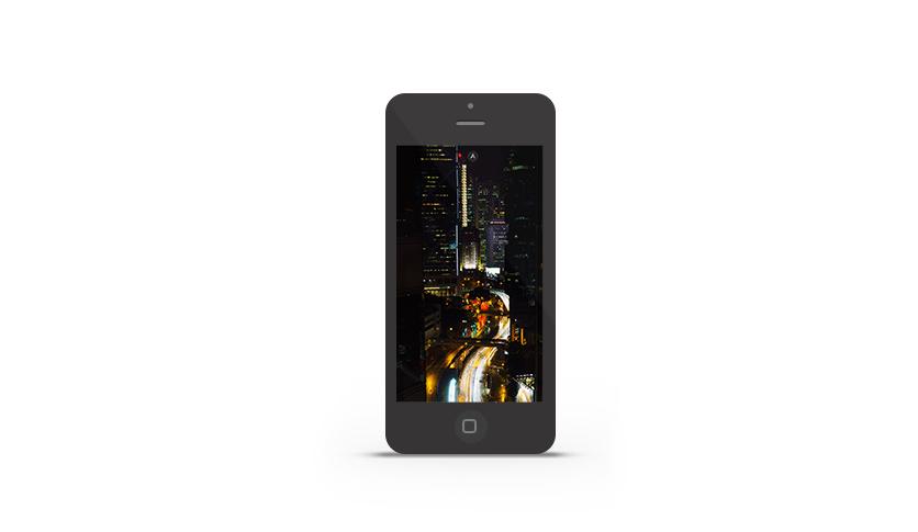 Abduzeedo's iPhone wallpaper of the week Hong Kong