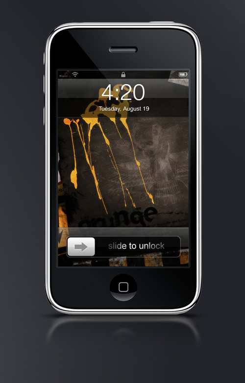 Abduzeedo's iPhone wallpaper of the week by Mayheam