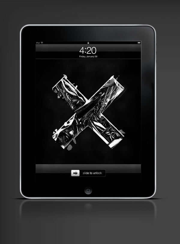 Abduzeedo's iPad wallpaper of the week by Saad Moosajee